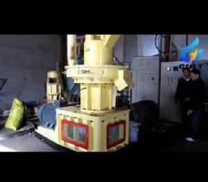 木屑颗粒机试机视频